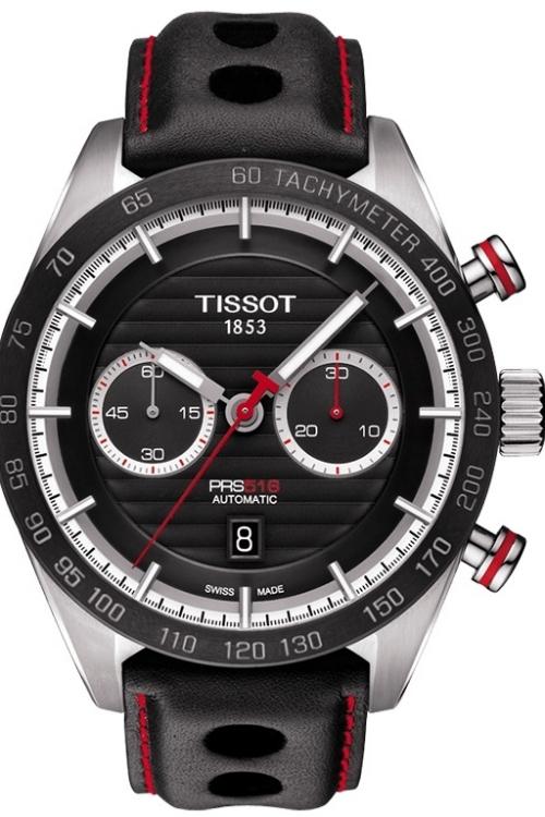 Mens Tissot PRS 516 Automatic Chronograph Watch T1004271605100