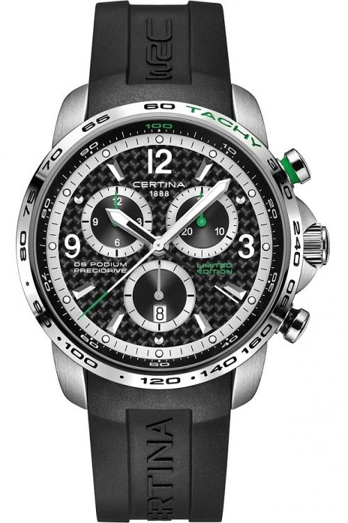 Mens Certina DS Podium Big Size Precidrive WRC Limited Edition Chronograph Watch C0016471720710