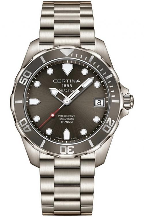 Mens Certina DS Action Precidrive Titanium Watch C0324104408100