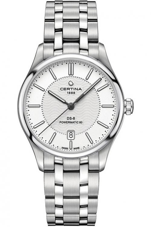 Mens Certina DS-8 Powermatic 80 Automatic Watch C0334071103100
