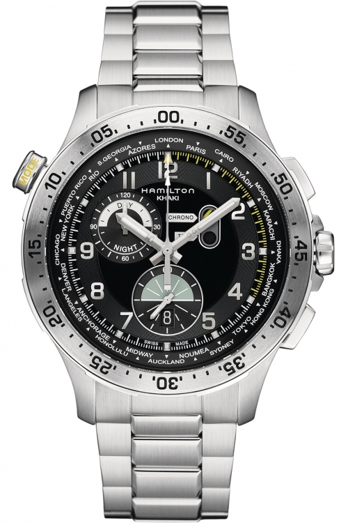 Mens Hamilton Khaki Pilot Chronograph Watch H76714135