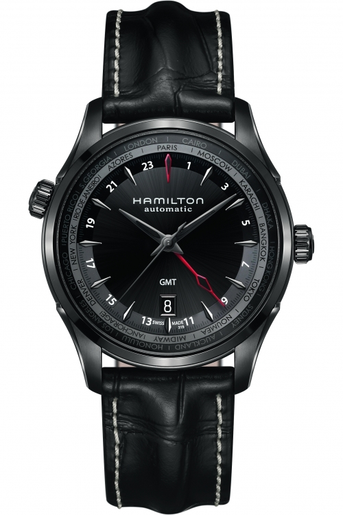 Mens Hamilton Jazzmaster GMT Limited Edition Automatic Watch H32685731