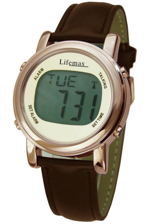 Ladies Lifemax Chic Atomic Talking Alarm Watch