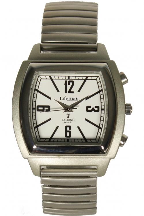 Mens Lifemax Vintage Atomic Talking Watch 1439B