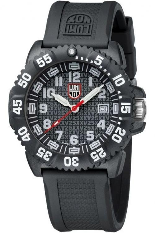 Mens Luminox Navy SEAL Colormark 3050 Series 25th Anniversary Watch A3051.25TH