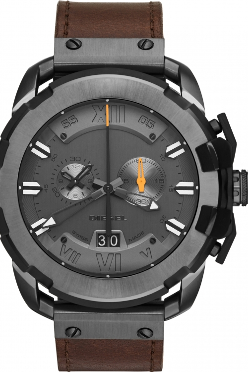 Mens Diesel Swiss Limited Edition Chronograph Watch DZS0001