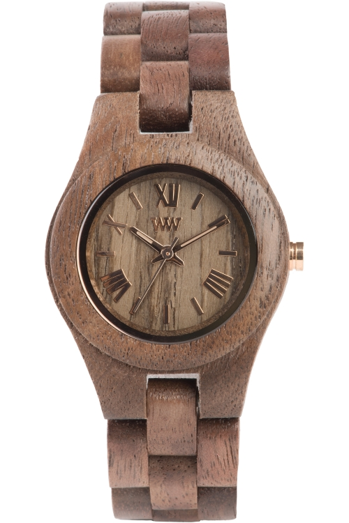 Ladies Wewood Criss Nut Watch