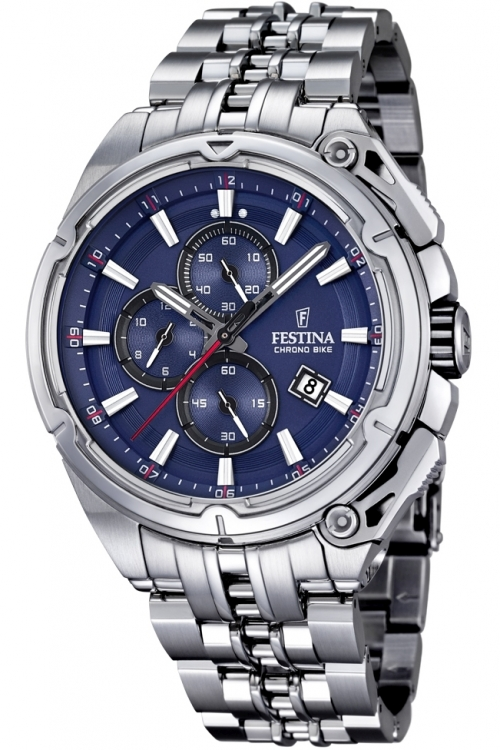 Mens Festina Chrono Bike 2015 Chronograph Watch F16881/2