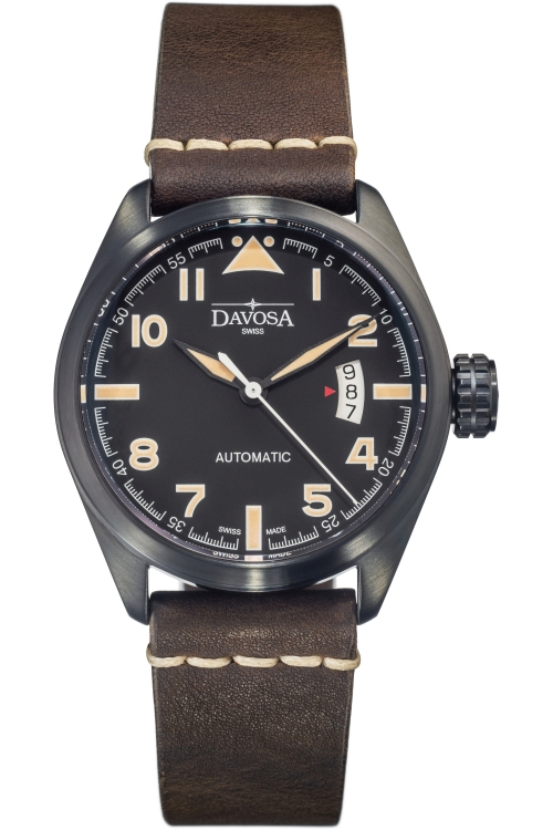 Mens Davosa Vintage Military Automatic Watch 16151184