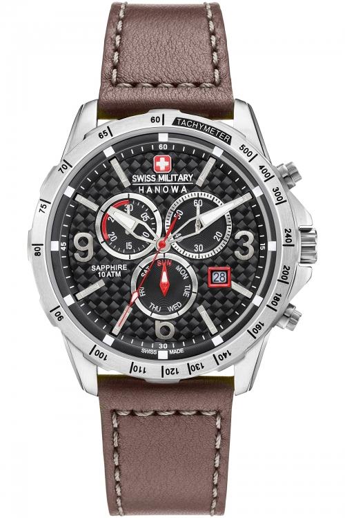 Mens Swiss Military Hanowa Chronograph Watch 6-4251.04.007
