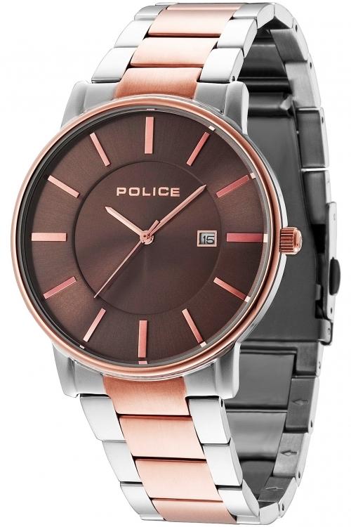 Mens Police London Watch 14496JSTR/13M