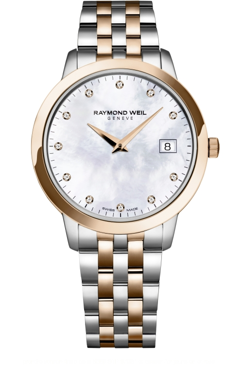 Image of Ladies Raymond Weil Toccata Diamond Watch