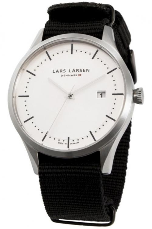 Mens Lars Larsen Alex Watch 119SSBLN