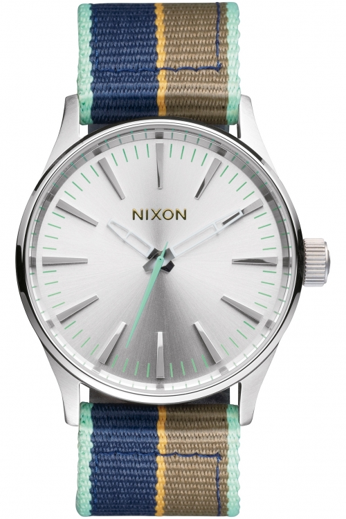 Mens Nixon The Sentry 38 Nylon Watch A426-2083
