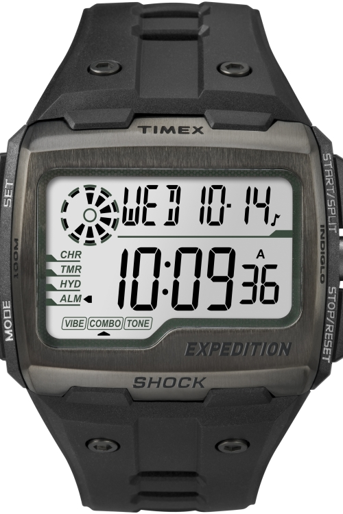 Mens Timex Digital Shock Alarm Chronograph Watch TW4B02500