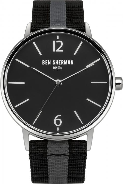 Mens Ben Sherman London Portobello Stripe Watch WB044B
