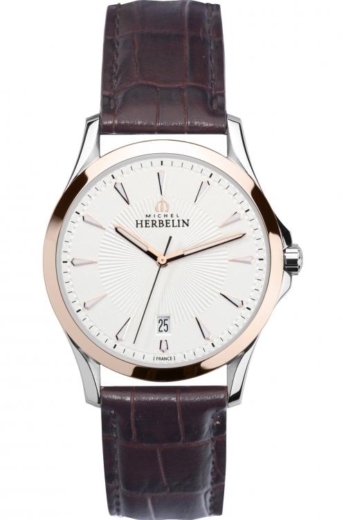 Mens Michel Herbelin Inspiration Lyre Watch 12213/TR12MA