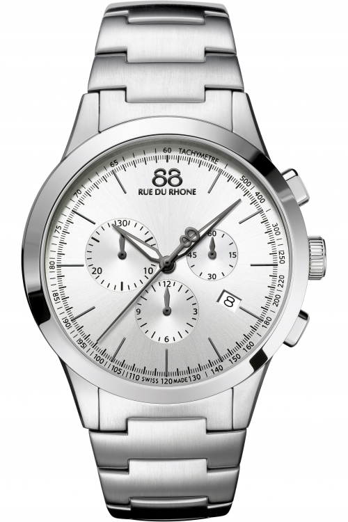 Mens 88 Rue Du Rhone Rive Chronograph Watch 87WA154308