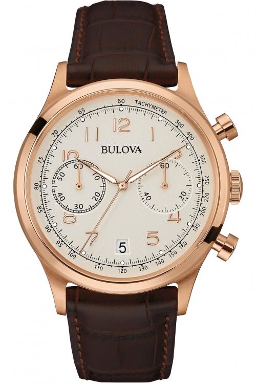 Mens Bulova Mens Vintage Chronograph Watch 97B148