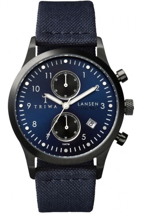 Mens Triwa Dusk Lansen Chrono Watch LCST107CL063112
