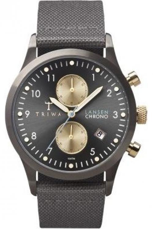 Mens Triwa Walter Lansen Chrono Chronograph Watch LCST101CL061613