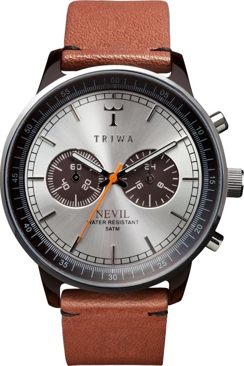 Mens Triwa Havana Nevil Chronograph Watch NEAC102ST01021