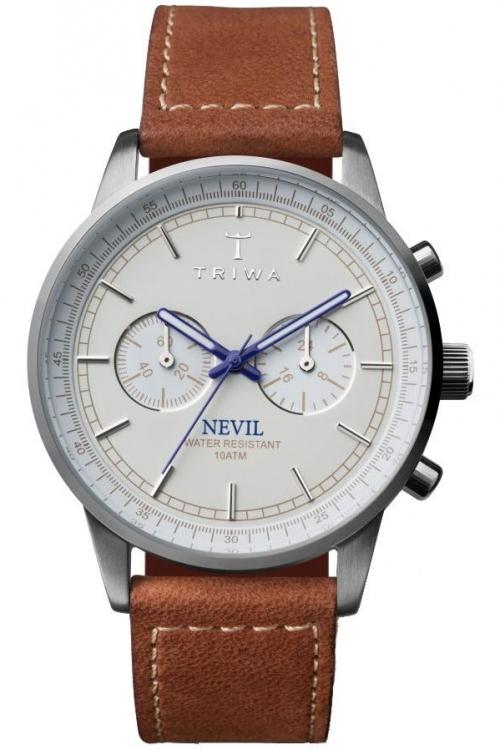 Mens Triwa Ivory Nevil Chronograph Watch NEST112SC010215