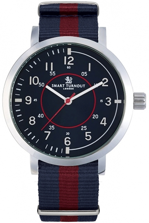 Mens Smart Turnout College Watch Face Household Division Watch STD1/56/W-HD