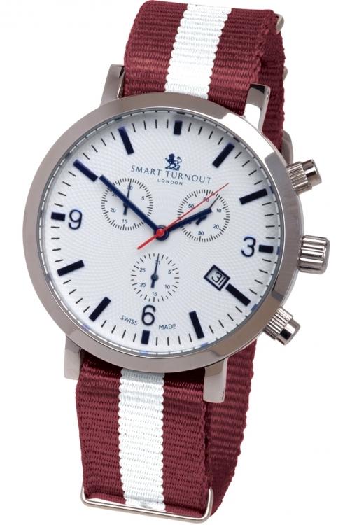 Mens Smart Turnout London Watch Harvard University Chronograph Watch STC2/56/W-HARV