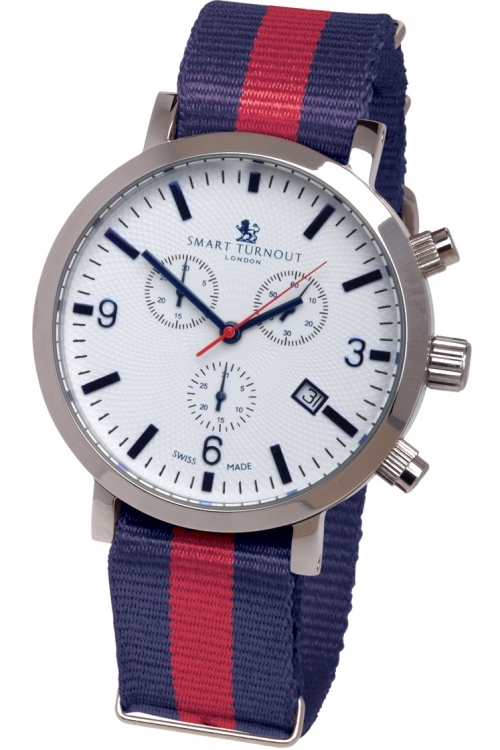 Mens Smart Turnout London Watch Household Division Chronograph Watch STC2/56/W-HD