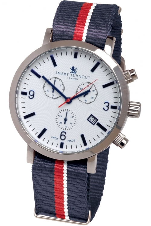 Mens Smart Turnout London Watch Royal Navy Chronograph Watch STC2/56/W-RN