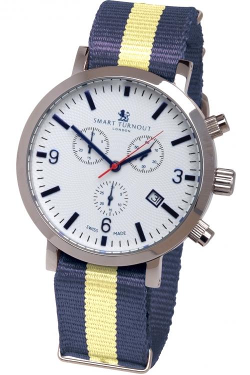 Mens Smart Turnout London Watch Princess Of Wales's Regiment Chronograph Watch STC2/56/W-WA