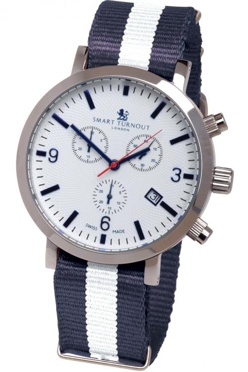 Mens Smart Turnout London Watch Yale University Chronograph Watch STC2/56/W-YALE