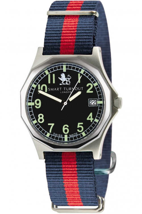 Mens Smart Turnout Military Watch Face Household Division Watch STA/56/W-HD