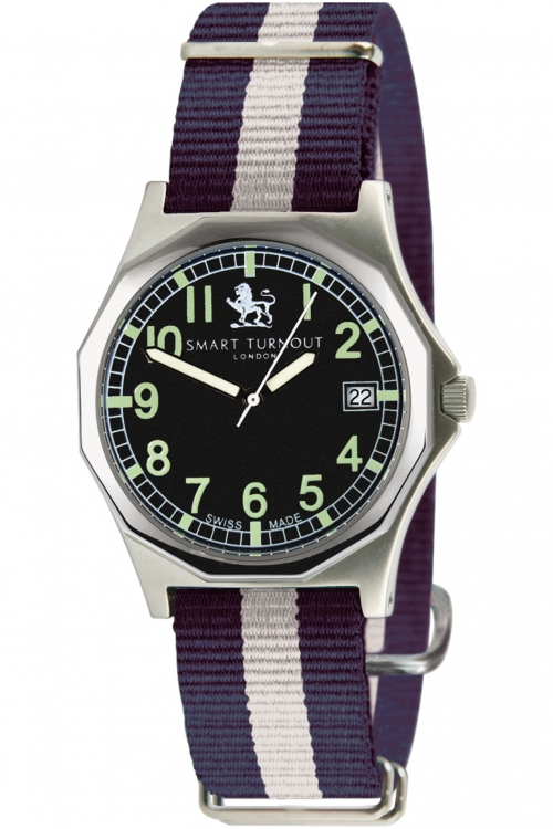 Mens Smart Turnout Military Watch Yale University Watch STA/56/W-YALE