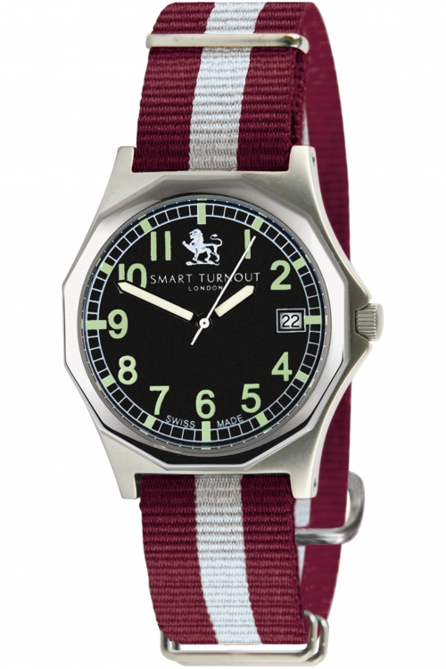 Mens Smart Turnout Military Watch Harvard University Watch STA/56/W-HARV