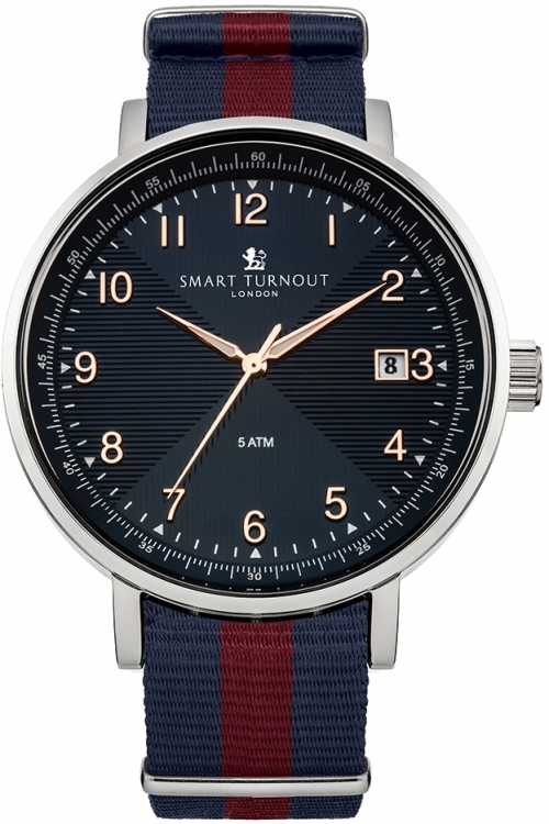 Mens Smart Turnout Scholar Watch Blue Household Division Watch STH3/BL/56/W-HD