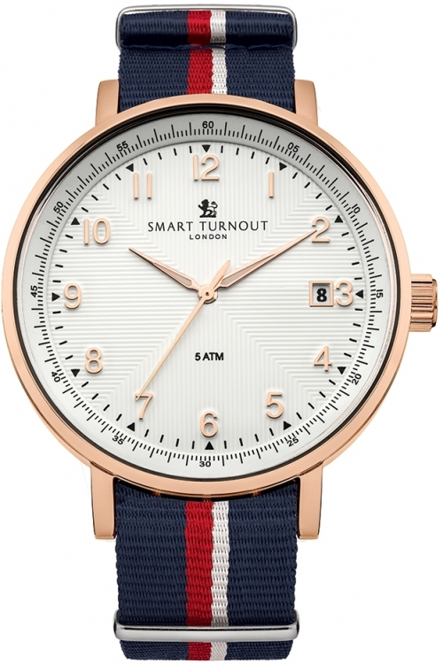 Mens Smart Turnout Scholar Watch White Royal Navy Watch STH3/WH/56/W-RN