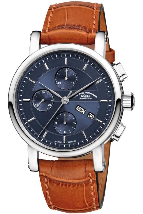 Mens Muhle Glashutte Teutonia II Chronograph Watch M1-30-92-LB