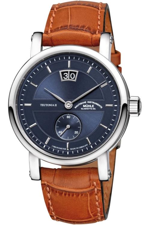 Mens Muhle Glashutte Teutonia II Grossdatum Chronometer Limited Edition Automatic Watch M1-33-76-LB