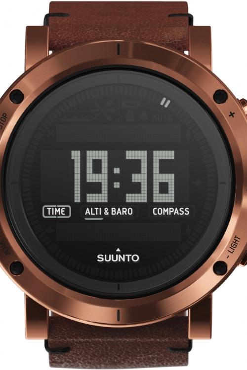 Mens Suunto Essential Altimeter Barometer Compass Alarm Chronograph Watch SS021213000