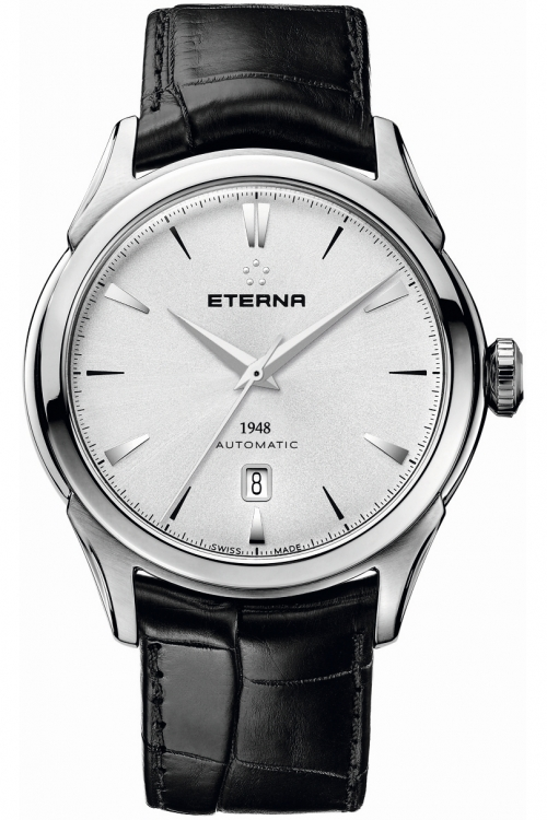 Mens Eterna 1948 Legacy Date Automatic Watch 2950.41.11.1175
