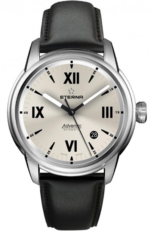Mens Eterna Adventic Date Automatic Watch 2970.41.52.1354