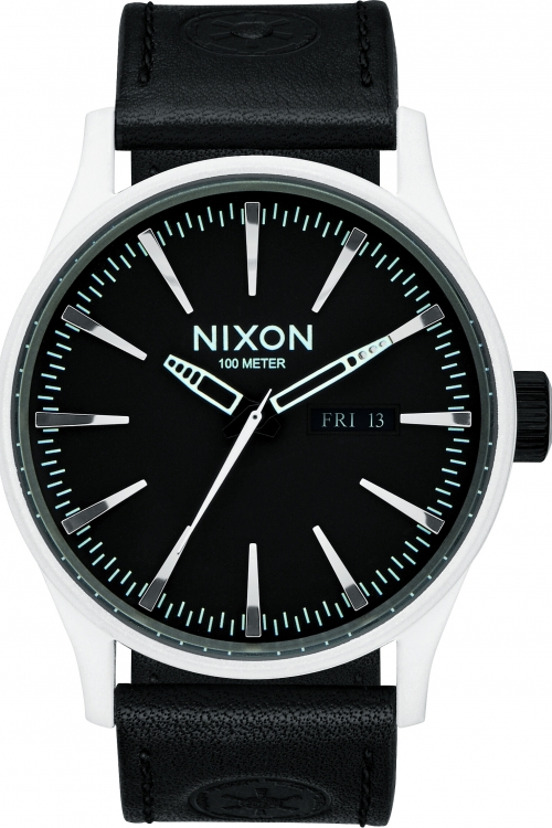 Mens Nixon The Sentry Leather Star Wars Special Edition Watch A105SW-2243