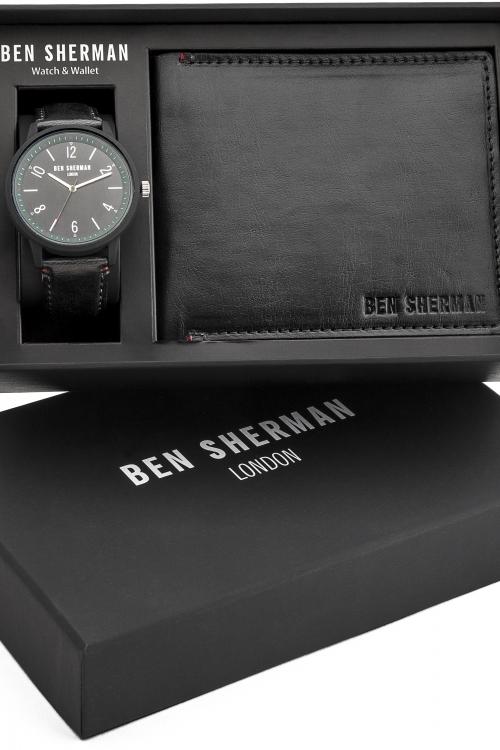 Mens Ben Sherman London Wallet Gift Set Watch WB050BB-G