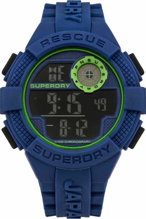 Mens Superdry Radar Chronograph Watch SYG193U