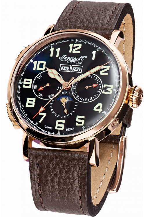 Mens Ingersoll Automatic Automatic Watch IN1917RBK