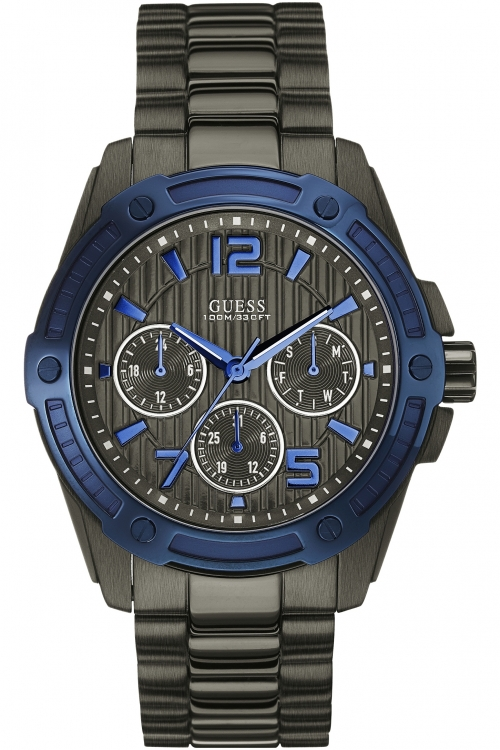 Mens Guess Flagship Chronograph Watch W0601G1