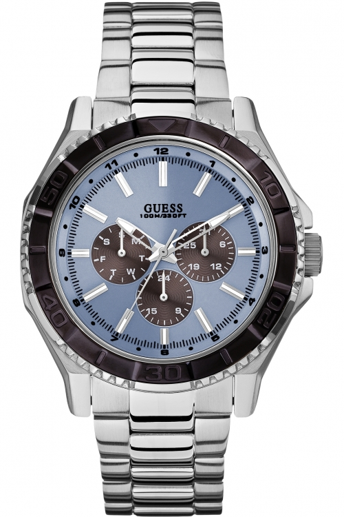 Mens Guess Unplugged Chronograph Watch W0479G2