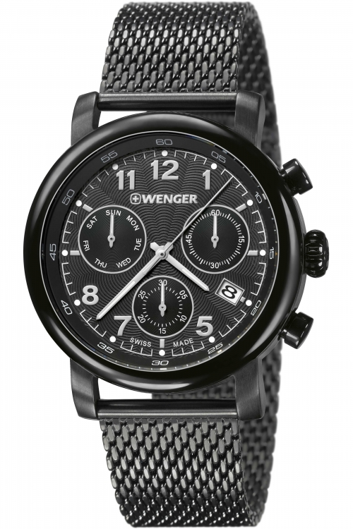 Mens Wenger Urban Classic Chrono Watch 11043108